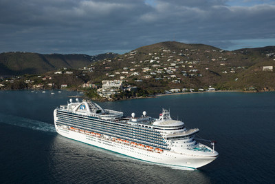 Princess Cruises Resumes Summer Caribbean Cruises in 2018.