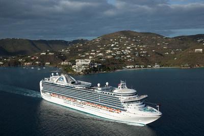 Princess Cruises Resumes Summer Caribbean Cruises in 2018.