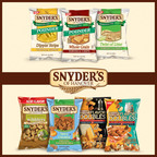 Snyder's of Hanover Continues Flavor Tradition with Seven New Products.  (PRNewsFoto/Snyder's of Hanover)