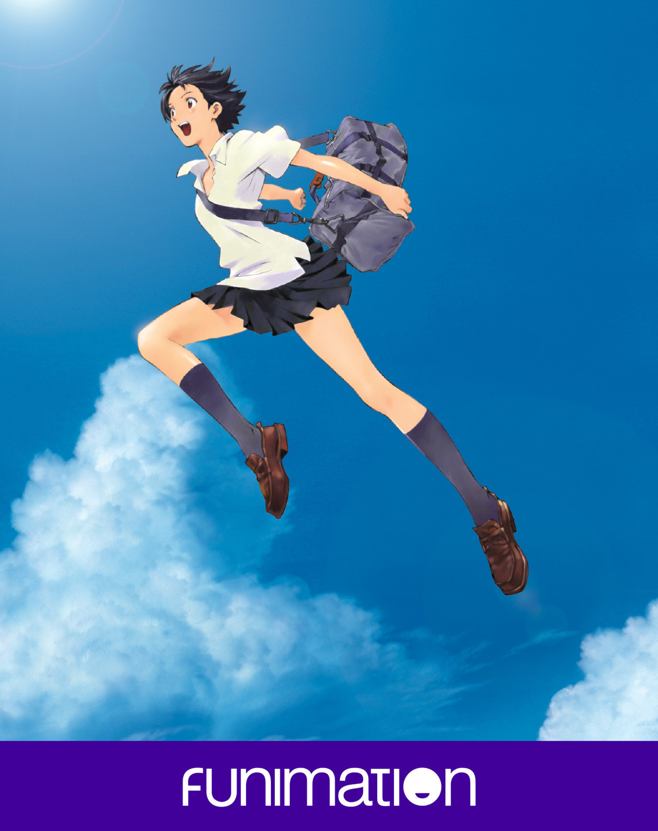 """""""The Girl Who Leapt Through Time"""" key art - courtesy of Funimation"""