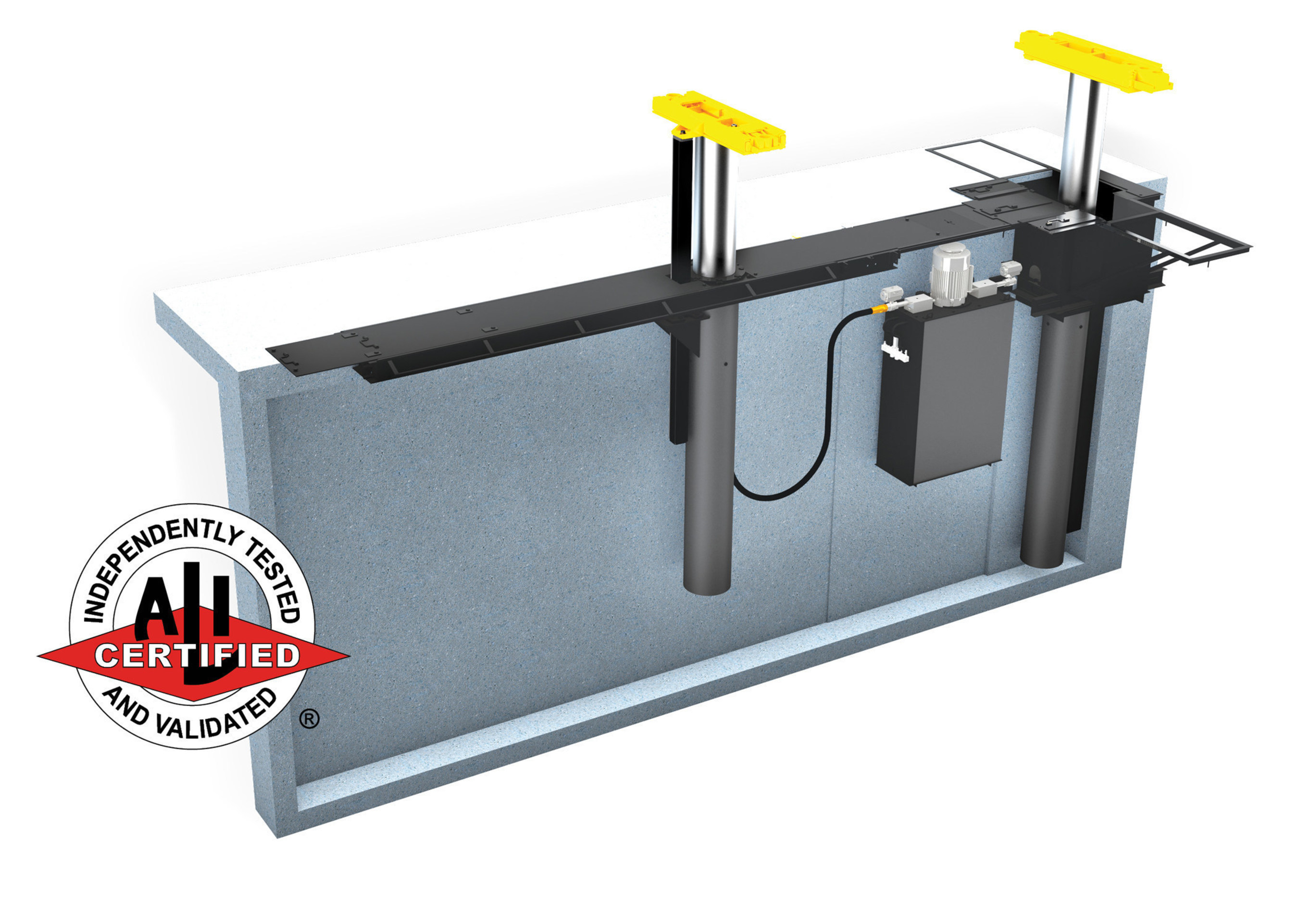 Rotary Lift Updates Heavy-Duty Inground Lifts with New Features and ALI Certification