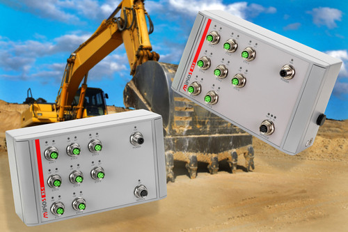 New MEN Micro Fast Ethernet Switches Increase System Safety