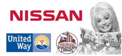 NISSAN TO HELP MISSISSIPPI PRESCHOOLERS WITH $400,000 CONTRIBUTION TO DOLLY PARTON IMAGINATION LIBRARY LITERACY PROGRAM.  (PRNewsFoto/Nissan North America, Inc.)