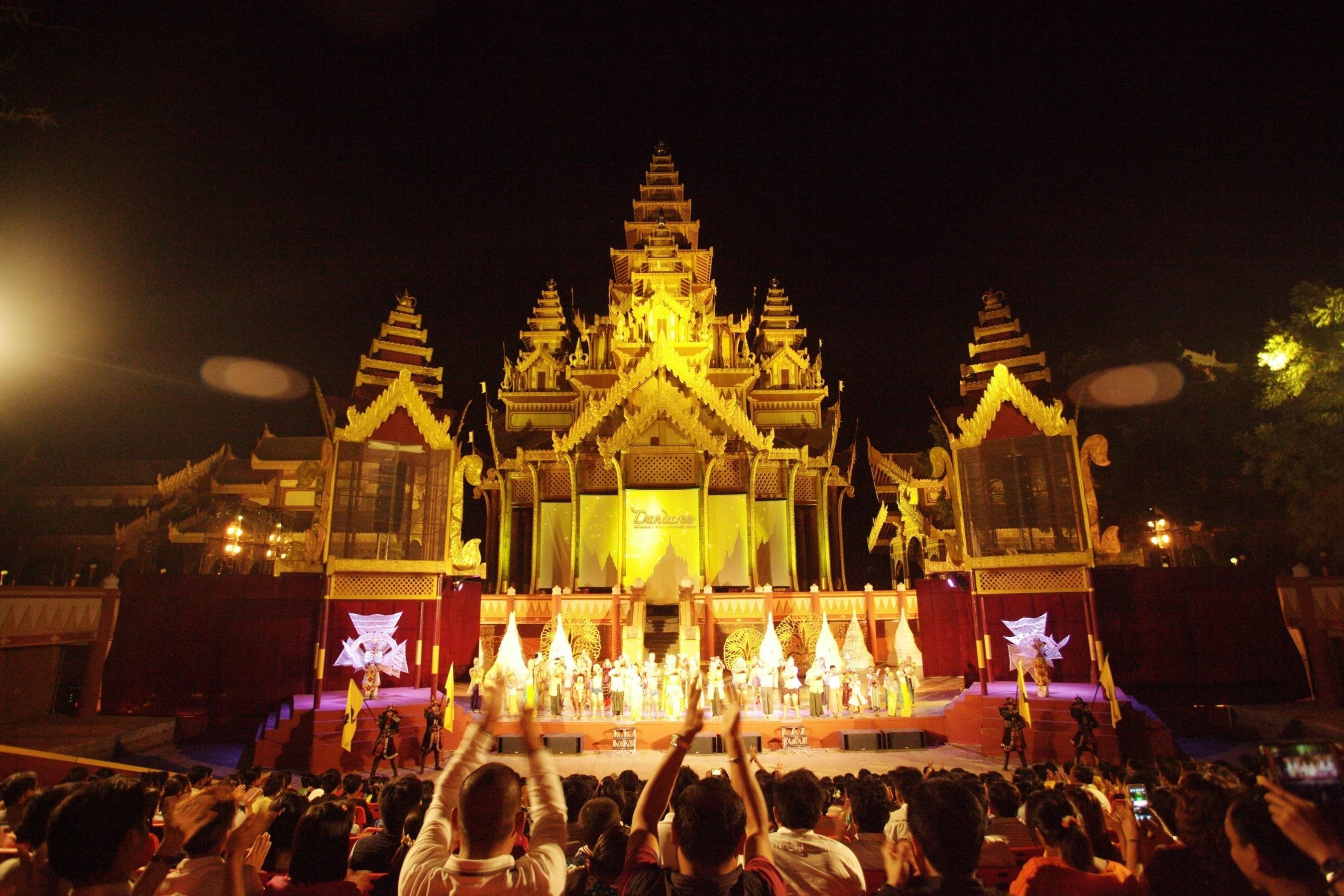 """""""Dandaree' in Bagan zur Förderung des Myanmar-Tourismus gestartet"""