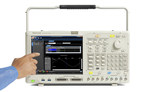 The AWG4000 Series is the industry's first 3-in-1 arbitrary waveform generator. With basic, advanced and digital modes, the portable signal generator can be easily shared across design teams and can meet a wide variety of signal generation needs ranging from radar and wireless communications to embedded systems design and research applications. It offers 2 analog channels, up to 2.5GS/s sampling rate, 750 MHz bandwidth, 14-bit vertical resolution, up to 64 Mpt/ch arbitrary memory, sequence with up to...