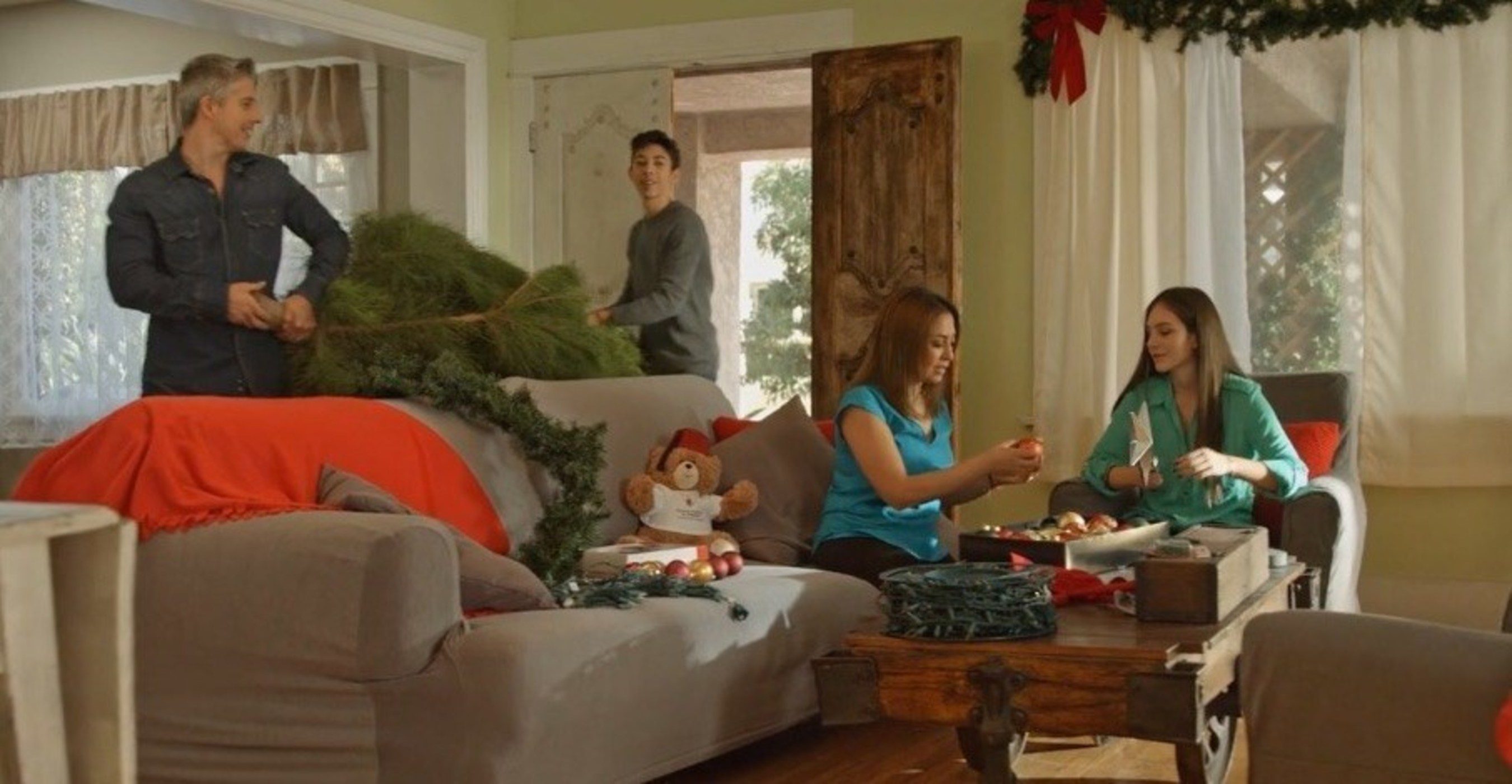 70 percent of survey respondents are aware that live Christmas trees should be watered daily, but only 45 percent actually do.