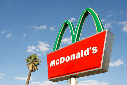 The Golden Arches® Go Green