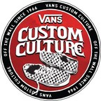 Vans opens registration for seventh annual Vans Custom Culture design competition at Vans.com/CustomCulture. U.S. High School students are invited to create custom Vans shoe designs showcasing their creativity and fostering their local #RightToArt movement to raise awareness for arts education.