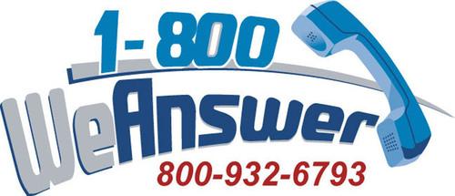 1-800 We Answer logo.  (PRNewsFoto/1-800 We Answer)