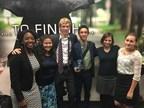 Members of the Hillsdale College debate team: Amber Crump, Kara Schmidt, Timothy Polelle, Matthew Kendrick, Sigrid Kiledal, Anna Perry