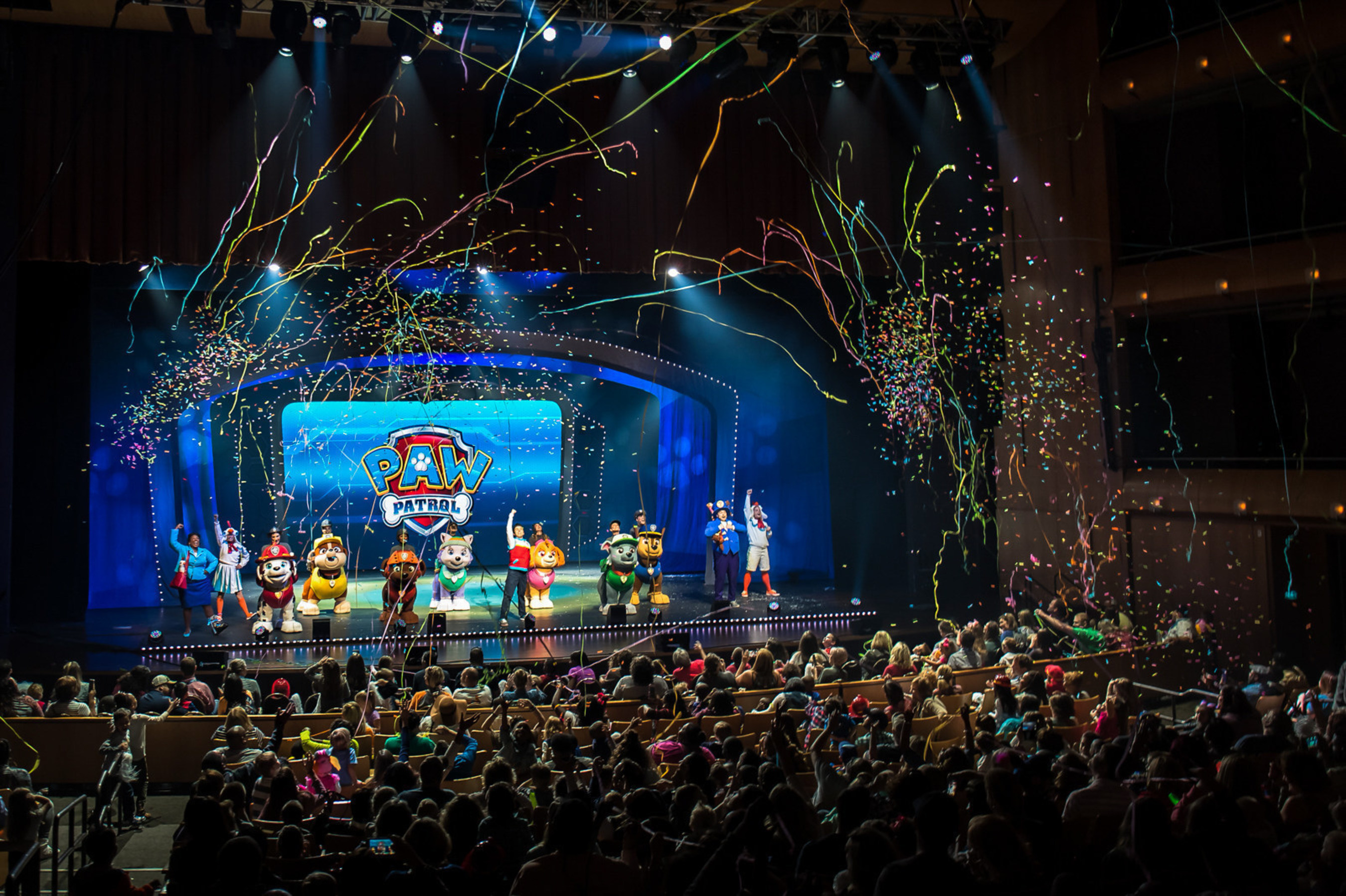PAW Patrol Live!, based on the hit preschool series PAW Patrol, which airs on Nickelodeon and is produced by Spin Master Entertainment, is a Broadway-style musical adventure with plenty of entertainment for the entire family. (photos courtesy of VStar Entertainment Group and Nickelodeon)