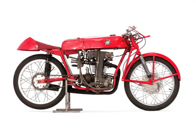 1953/54 MV Agusta ex-works 125 Grand Prix Racer, Winner of the Isle of Man TT.  (PRNewsFoto/Mecum Auctions)