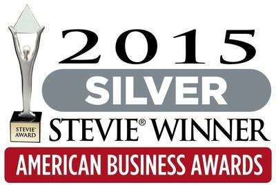 2105 Silver Stevie(R) Award In 2015 American Business Awards