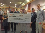 Sport Clips Haircuts donates $830,000 to VFW for