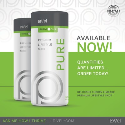 THRIVE Pure: a new premium supplement designed for fast-paced lifestyles
