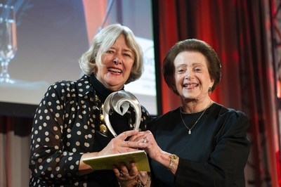 2016 Wenger Awardee The Honorable Pat Schroeder and Dr. Nanette Wenger