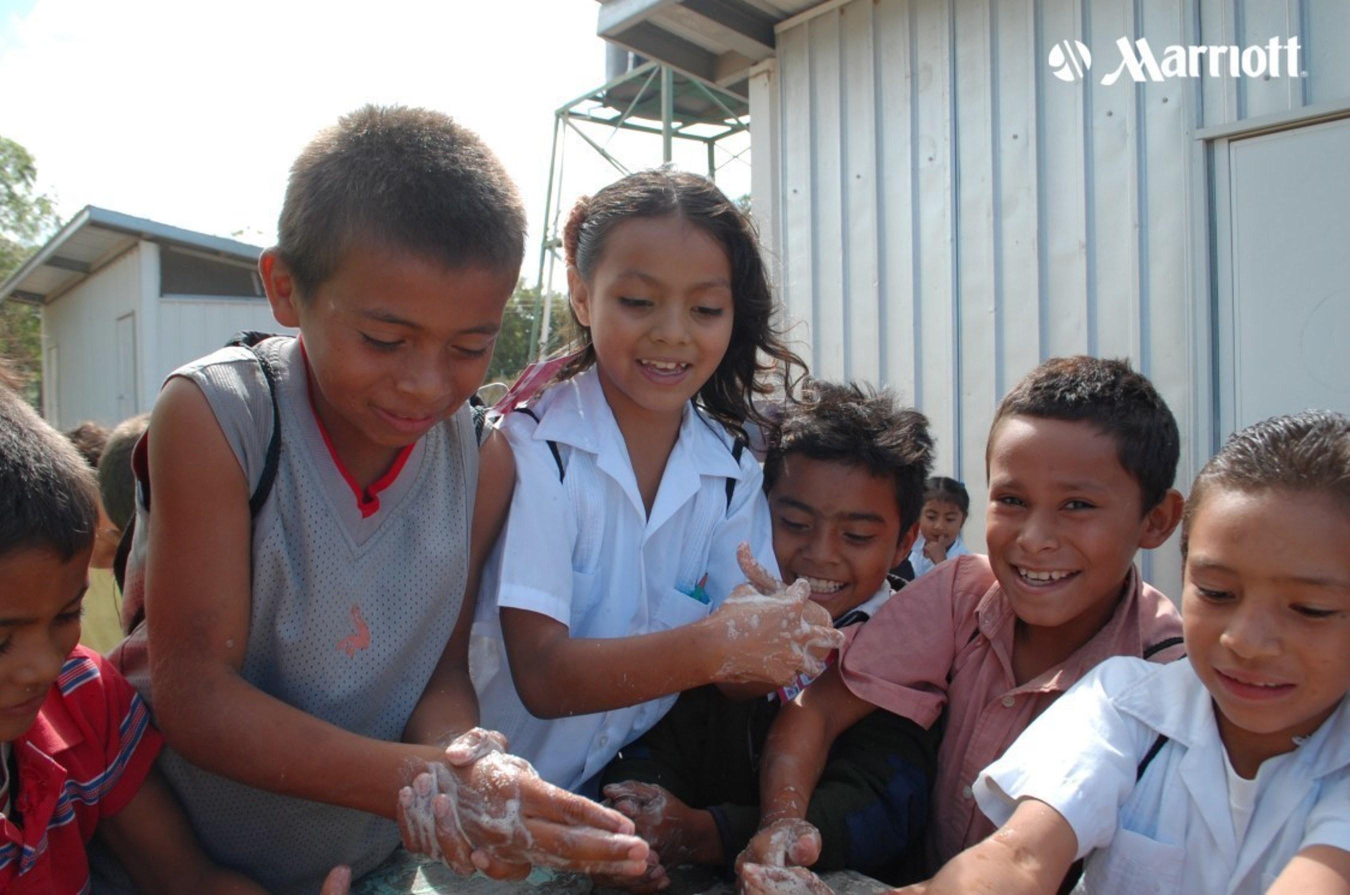"""Marriott's 2015 Sustainability Report Captures Milestones, Spotlights """"Bridges from School to Work"""""""