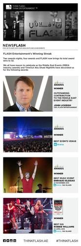 FLASH Entertainment's Winning Streak (PRNewsFoto/FLASH Entertainment)