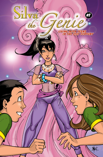 """Silva The Genie"" - New Comic Book Hero To Champion Bullied Kids; Best-Selling Self-Help Author & Guru ..."