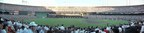 A panorama view inside Candlestick Park moments after the Loma Prieta earthquake struck. Photo by Jon Leonoudakis (PRNewsFoto/Evzone Media & Experiential)