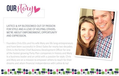 Industry Experts and Founders, Christopher Ellis and Wife Mary. Our desire is to make difference in the lives of others.