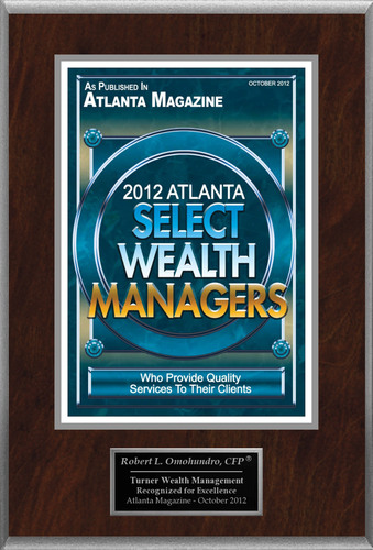 "Robert L. Omohundro, CFP Selected For ""2012 Atlanta Select Wealth Managers"".  (PRNewsFoto/American ..."