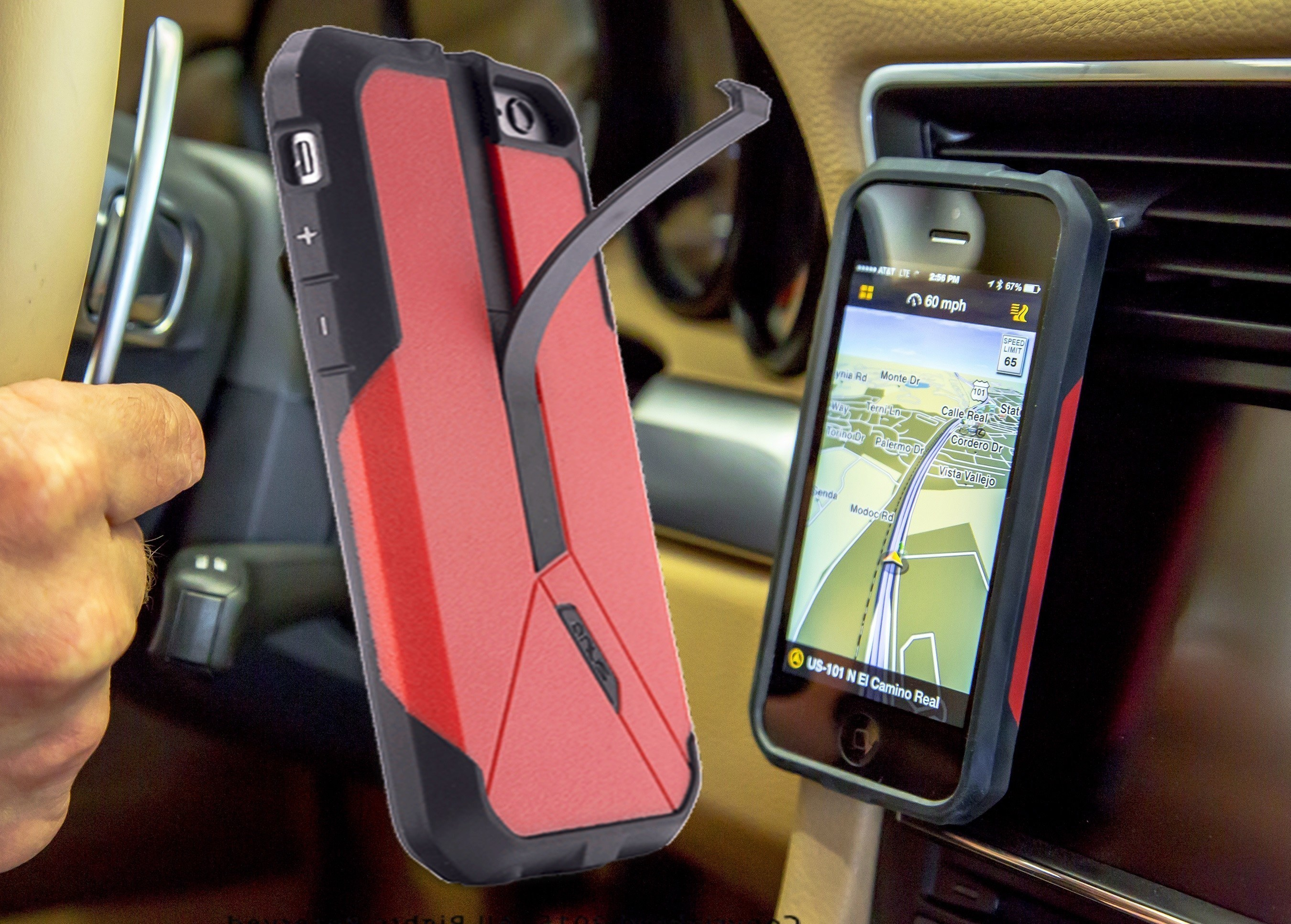 Versatile Zuna Drive Cell Phone Case Combines Multiple Unique Features