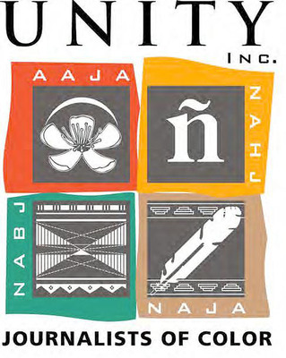 UNITY: Journalists of Color logo.  (PRNewsFoto/UNITY: Journalists of Color)