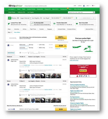 TripAdvisor Flights now features in-flight insights and amenities for airlines globally.