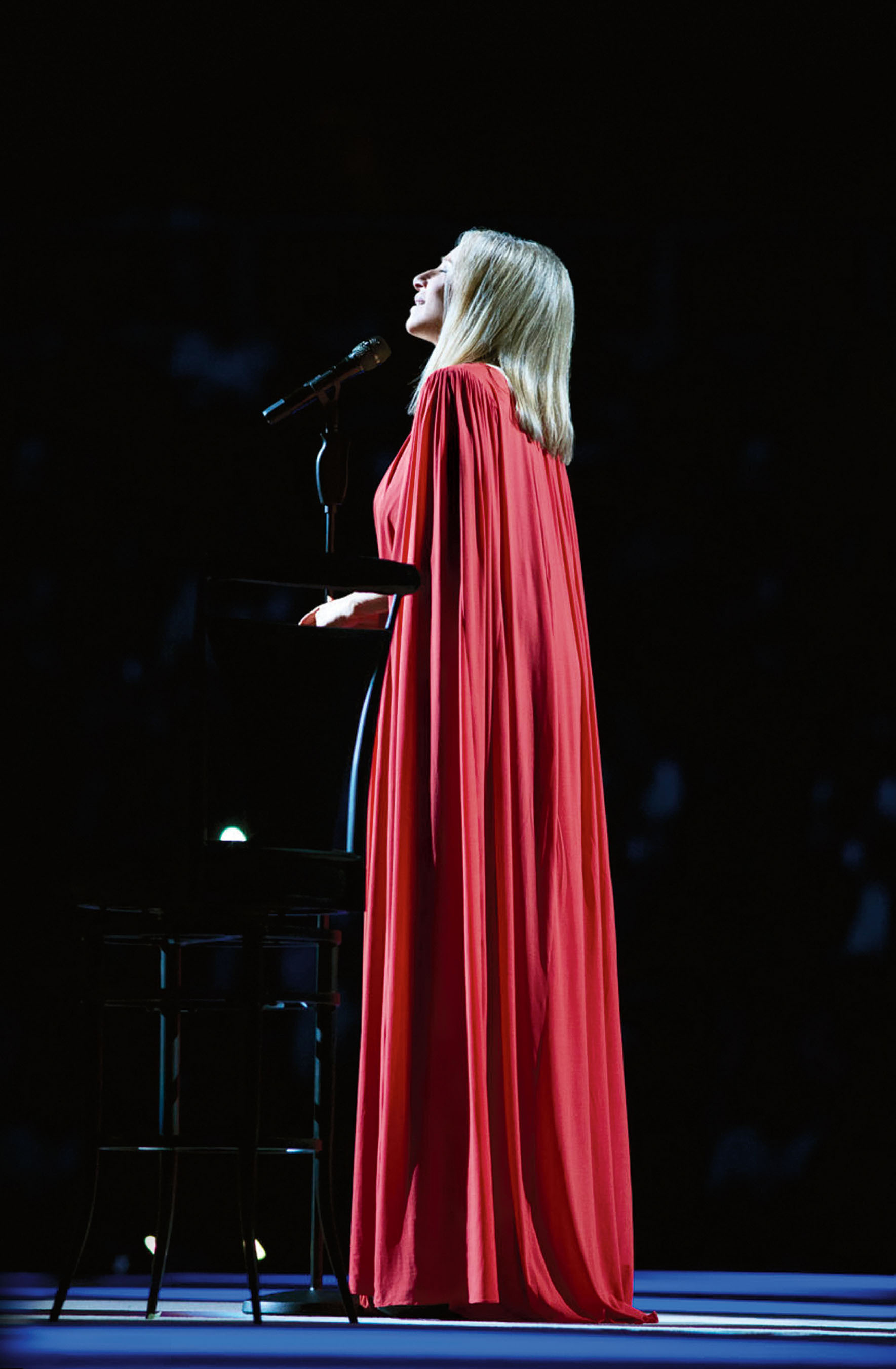 """Barbra Streisand's """"Back To Brooklyn"""" Concert To Debut November 25 As Columbia Records CD/DVD Package. (PRNewsFoto/Columbia Records, Russell James, Copyright Barwood) (PRNewsFoto/COLUMBIA RECORDS)"""