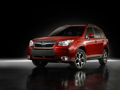 SUBARU REVEALS ALL-NEW 2014 FORESTER CROSSOVER SUV; NEW MODEL TO MAKE NORTH AMERICAN DEBUT AT LOS ANGELES AUTO SHOW.  (PRNewsFoto/Subaru of America, Inc.)