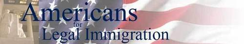 Americans for Legal Immigration logo (PRNewsFoto/Americans for Legal Immigrati...)