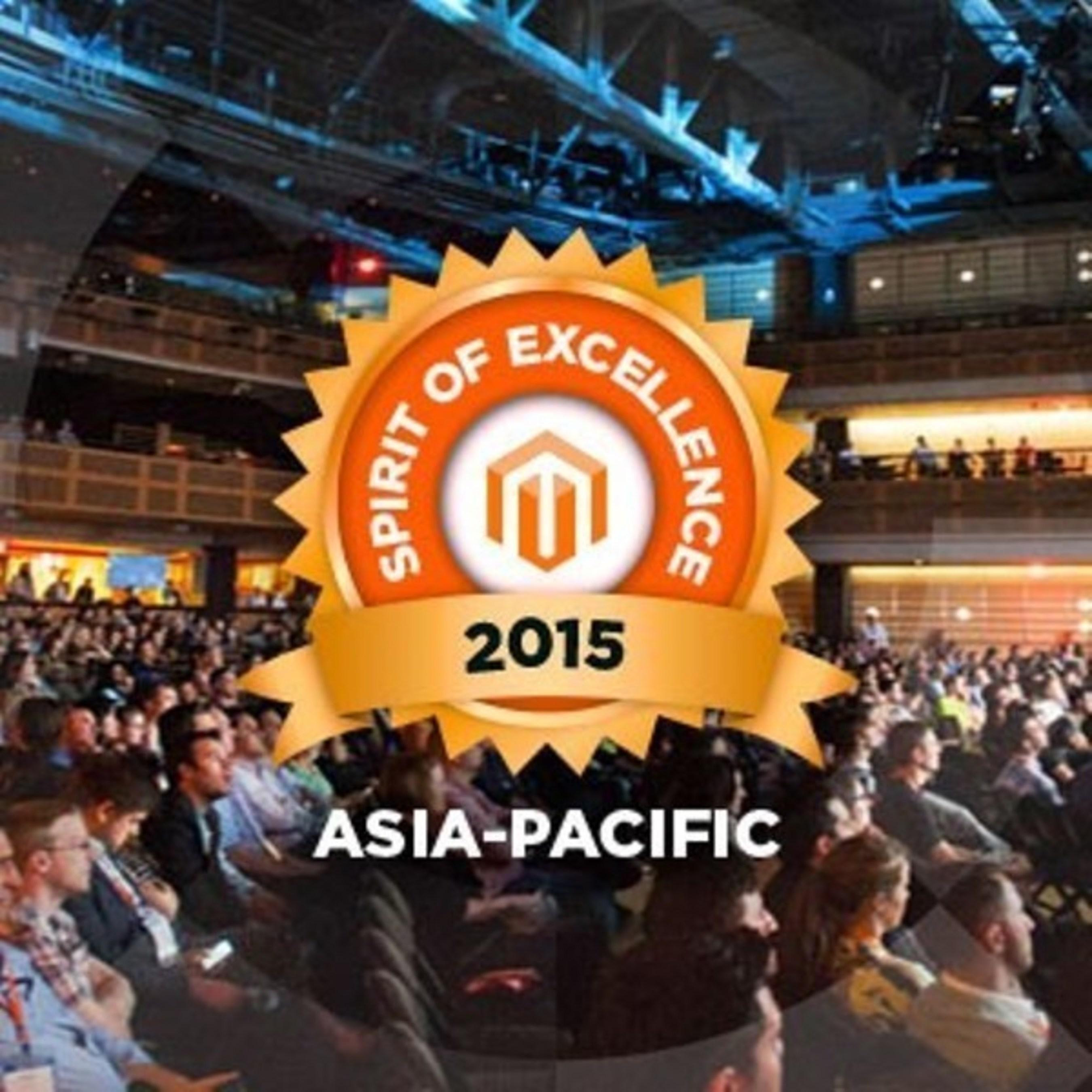 Sydney Digital Agency Infinity Technologies Receives 2015 Magento Spirit of Excellence Award