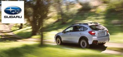 Briggs Subaru compares the ability of the 2014 Crosstrek while expanding their services to Overland Park (PRNewsFoto/Briggs Subaru)