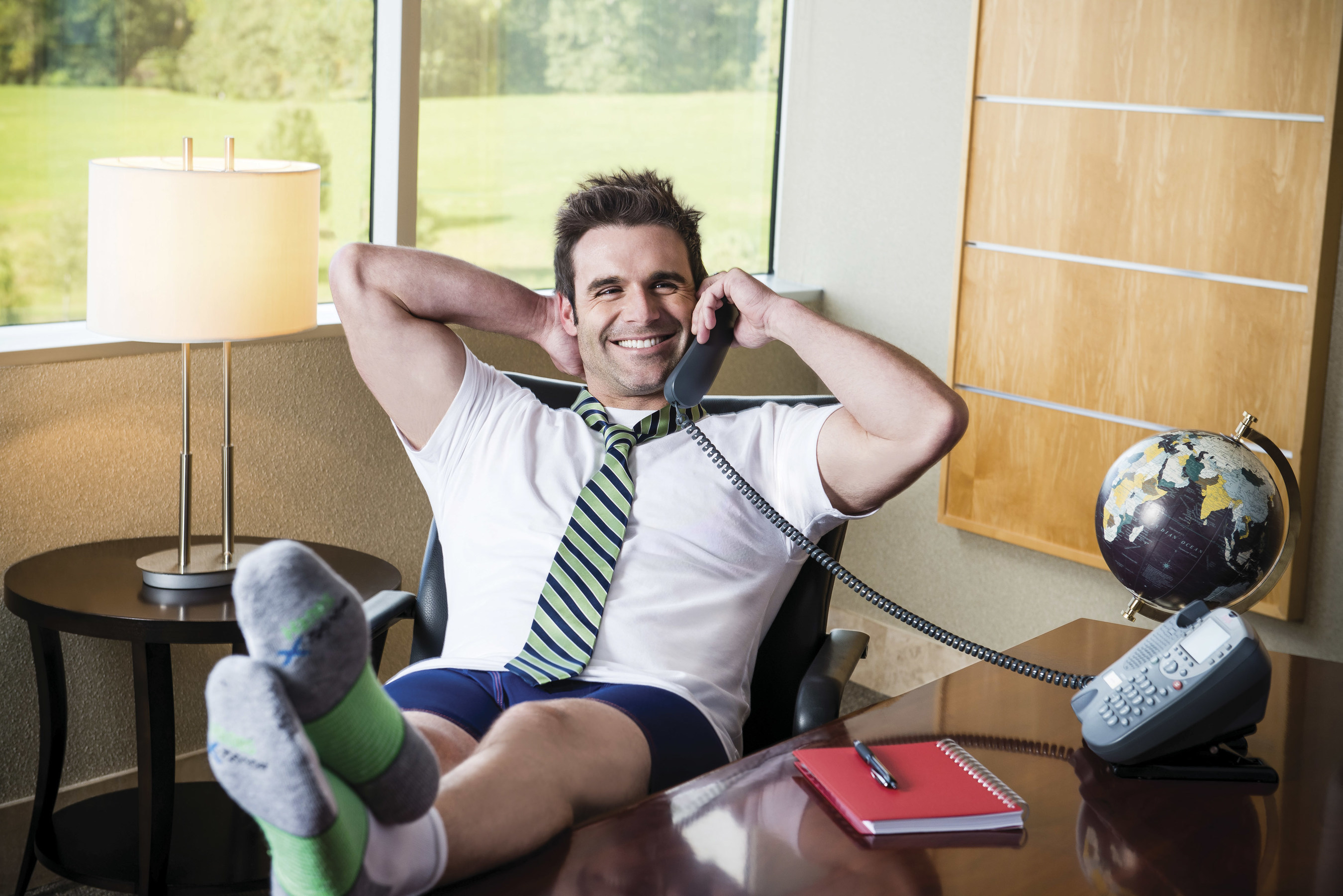 High-Tech Clothing Helps Overcome High Stress