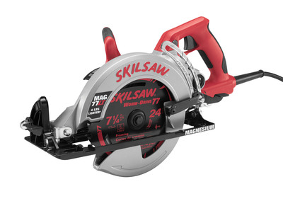Beginning in May 2013, the MAG77LT worm drive will be available online and in select stores nationwide with a suggested retail price of $219.00 (USD). For more information on where to buy, tool features and project ideas, visit www.SKILTools.com/MAG77LT