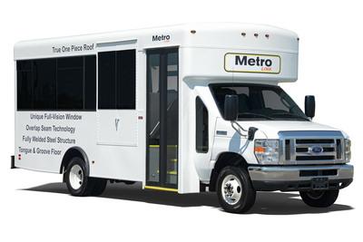 MetroLink from Winnebago Industries, Inc. on display at BusCon Expo 2013 in Chicago September 10-11, 2013. (PRNewsFoto/Winnebago Industries, Inc.) (PRNewsFoto/WINNEBAGO INDUSTRIES, INC.)