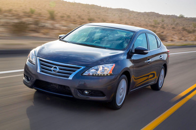 2013 Nissan Sentra.  (PRNewsFoto/Nissan North America)