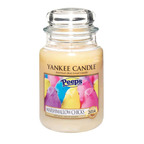 Yankee Candle & Just Born Debut New PEEPS(R) Marshmallow Chicks Candle For Easter.  (PRNewsFoto/The Yankee Candle Company)
