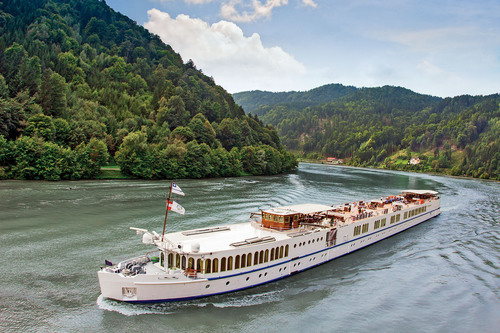 Grand Circle Cruise Line's newly acquired M/S Chanson (formerly the River Cloud II) will operate a new ...