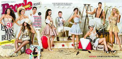 People en Espanol Names the 50 Most Beautiful Hispanic Celebrities of 2014 (PRNewsFoto/People en Espanol)