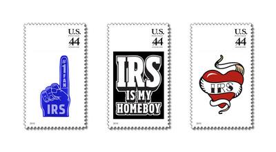 Webroot IRS appreciation stamps available at www.webroottaxlove.com.  (PRNewsFoto/Webroot Software, Inc.)
