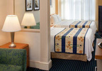 The SpringHill Suites Orlando Lake Buena Vista in Marriott Village is offering a Walt Disney World Ticket Package that includes deluxe accommodations, three-day Disney Magic Your Way base tickets allowing admission to one theme park each day, complimentary transportation to the parks and complimentary hotel parking.  For information, visit www.marriott.com/MCOLX or call 1-407-938-9001.  (PRNewsFoto/SpringHill Suites Orlando Lake Buena Vista in Marriott Village)