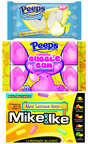 NEW Sweet Lemonade and Bubble Gum PEEPS(R) Along with MIKE AND IKE(R) Lemonade Blends(R) Sweeten Summer 2013!  (PRNewsFoto/PEEPS)