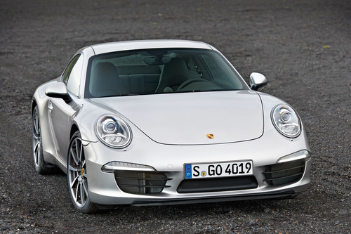 The all-new 2012 Porsche 911 Carrera S is wider and sleeker and unmistakably a 911.  (PRNewsFoto/Porsche Cars ...