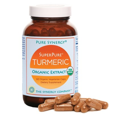 The Synergy Company's new SuperPure(R) Turmeric Organic Extract utilizes a triple extract process providing for greater potency, purity, bioavailability, and efficacy.