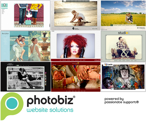 The latest HTML5 Portfolio Site designs from PhotoBiz.  (PRNewsFoto/PhotoBiz)
