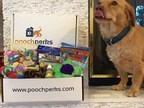 Announcing Pooch Perks Patriotic Pooch Package.  All-Amerian Lip Lickin' Good!  Includes toy and treats for dogs completely Made in the USA. poochperks.com