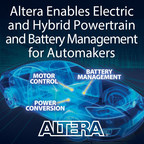 Altera is demonstrating its industry-leading programmable logic solutions for electric and hybrid vehicle powertrains and battery management systems at the Electric & Hybrid Technology Expo 2015. Visit the Altera booth (#737A) to learn how Altera FPGAs can improve system performance, accelerate time-to-market, and reduce total cost of ownership for automotive designs.