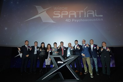 X-Spatial Management and Honorable guests attended X-Spatial Technology Grand Launch today and the lighting ceremony.